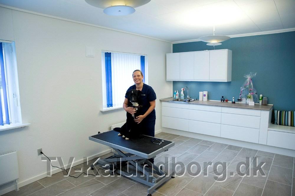 Dyrlæge Stina Elmelund. Foto Jens Nielsen
