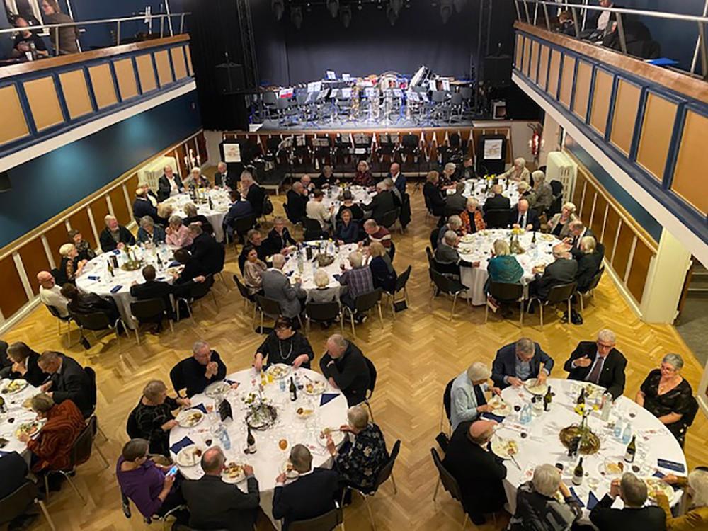 Nytårskoncert på Postgaarden fredag aften. Privat foto.