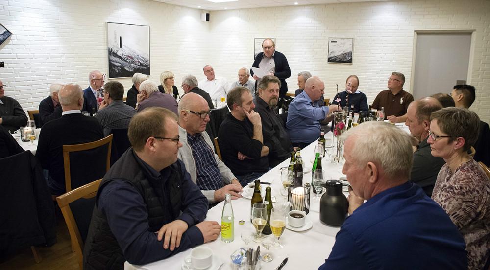 30 medlemmer var mødt frem til generalforsamlingen. Foto: Jens Nielsen