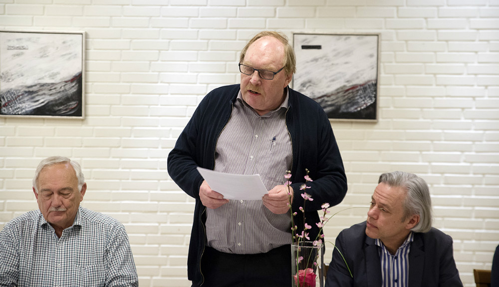 Formand Dan Hansen. Foto: Jens Nielsen
