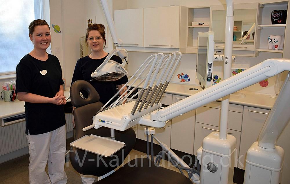Fra højre: Mia Trampenberg Jensen og Marlene Munter Hansen. Foto: Gitte Korsgaard.