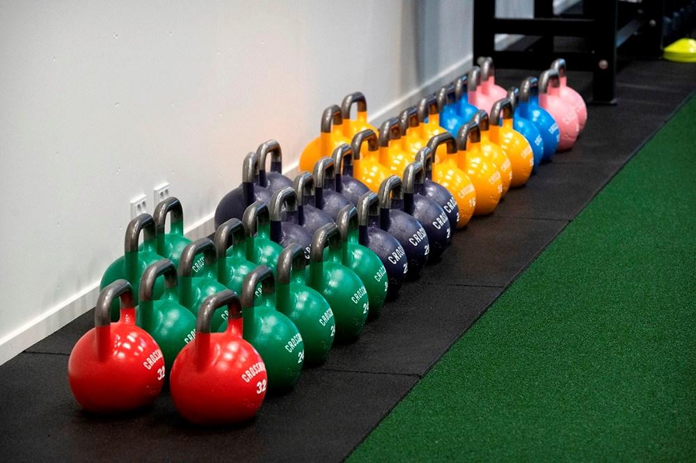Billede fra lørdagens workout. Foto: Jens Nielsen
