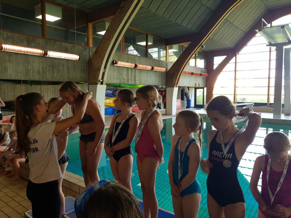 Deltagere fra Kalundborg Svømmeklub. Privatfoto.
