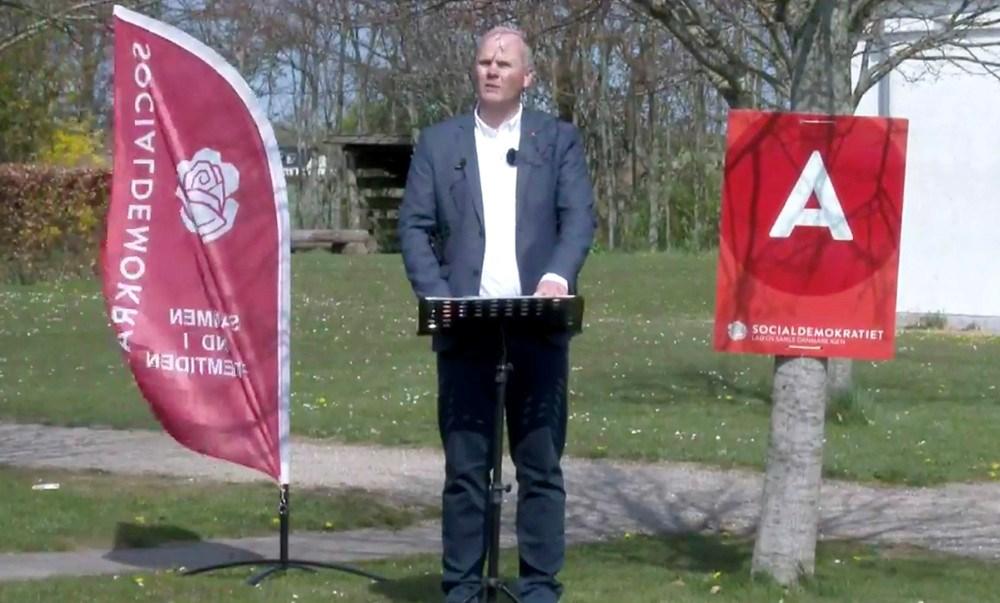 Formand for Socialdemokratiet i Kalundborg, Lars Kuhre Mortensen, bød velkommen