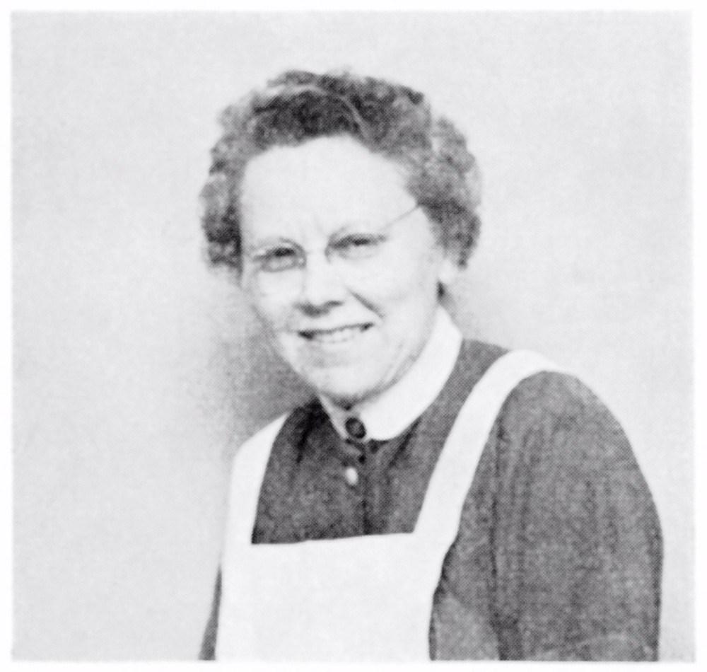 Der findes meget få billeder af Elise Sørensen. Her er et af dem, et portræt af sygeplejersken og opfinderen.