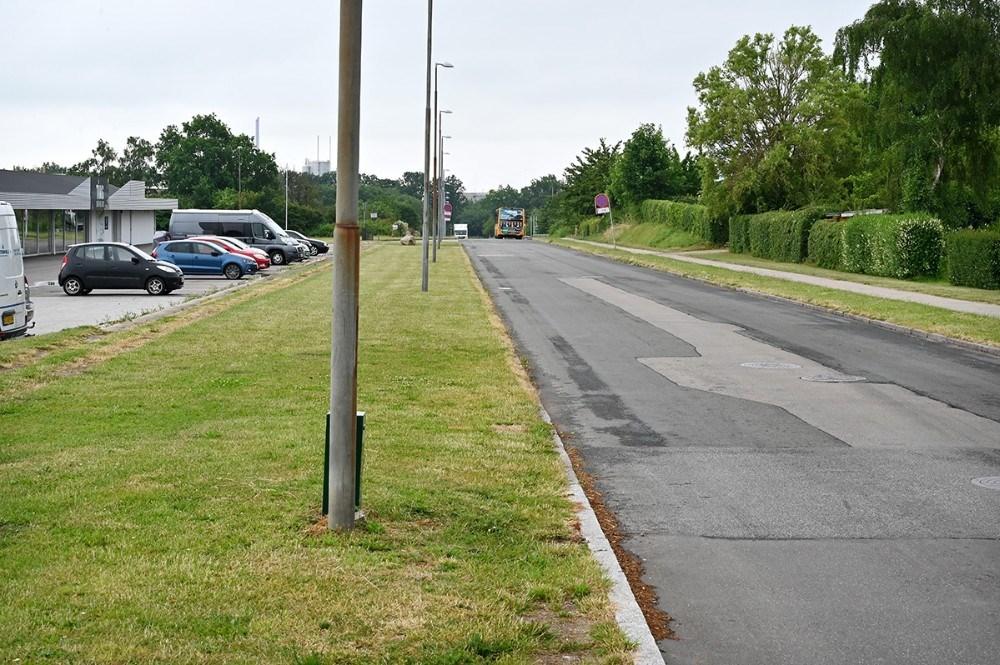 En af vejene på Stejlhøj bliver nu til Elise Sørensens Vej. Foto: Jens Nielsen