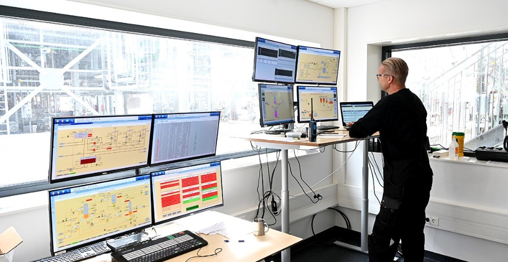 Det nye kontrolrum. Foto: Jens Nielsen