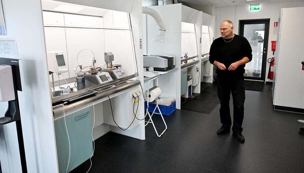 Det nye laboratorium. Foto: Jens Nielsen