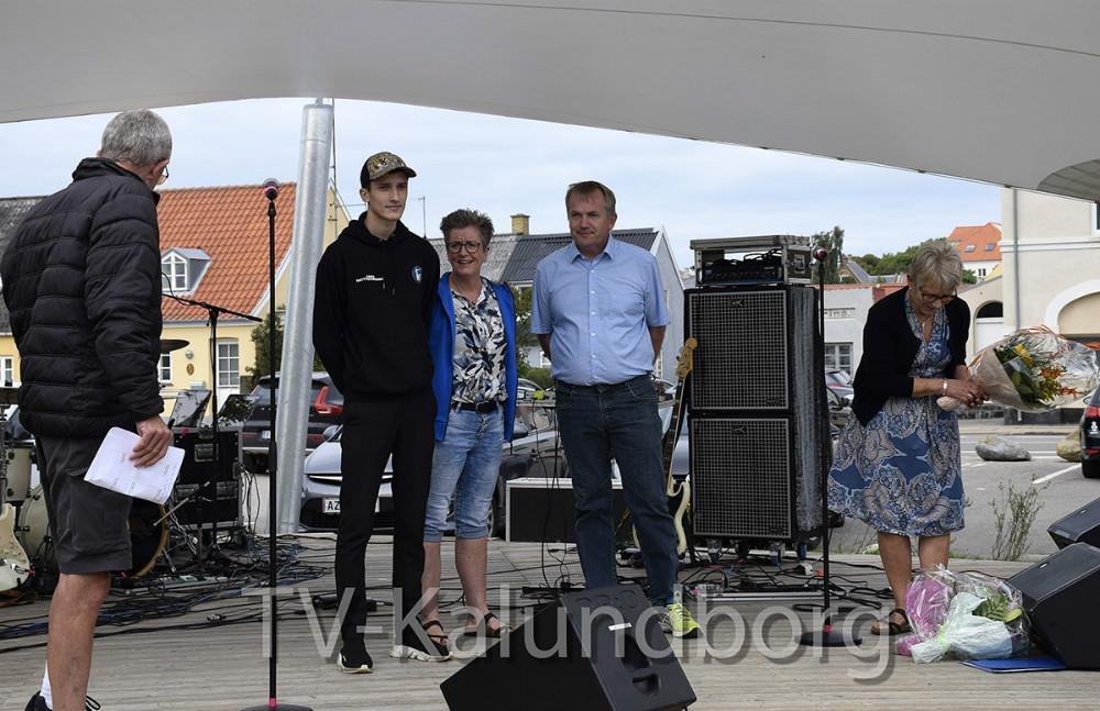 Prisuddeling ved Folkeoplysningsudvalget i forbindelse med BEVÆG Sundheds- og Idrætsfestivalen. Foto: Gitte Korsgaard.