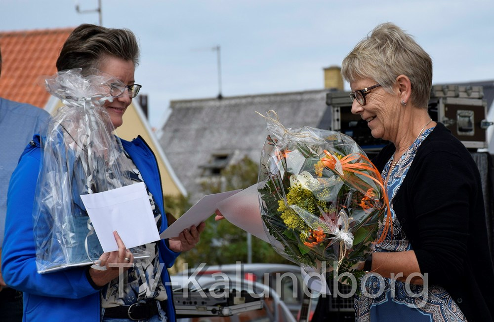 Trine Birkemose fra Høng Gymnastikforening vandt prisen som Årets Leder. Foto: Gitte Korsgaard.
