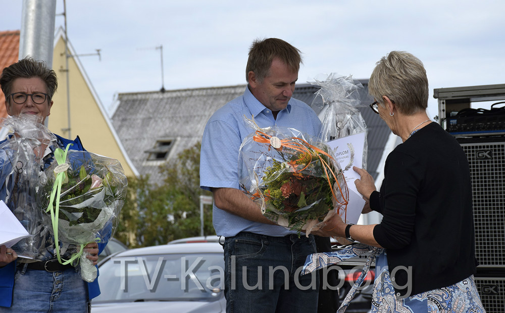 Peter Bondesen fra Årby Bordtennisklub vandt prisen som Årets Ildsjæl. Foto: Gitte Korsgaard.