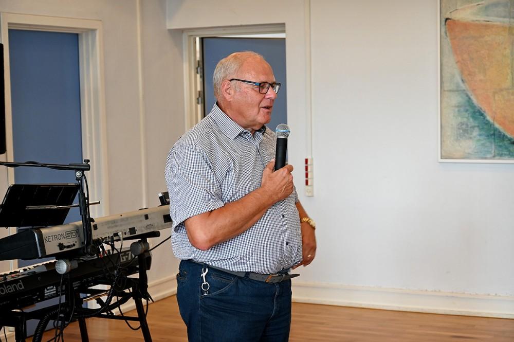 Henning Fougt, forhenværende borgmester i gl. Hvidebæk Kommune og med til at ansætte Kim Nielsen for 20 år siden. Foto: Jens Nielsen