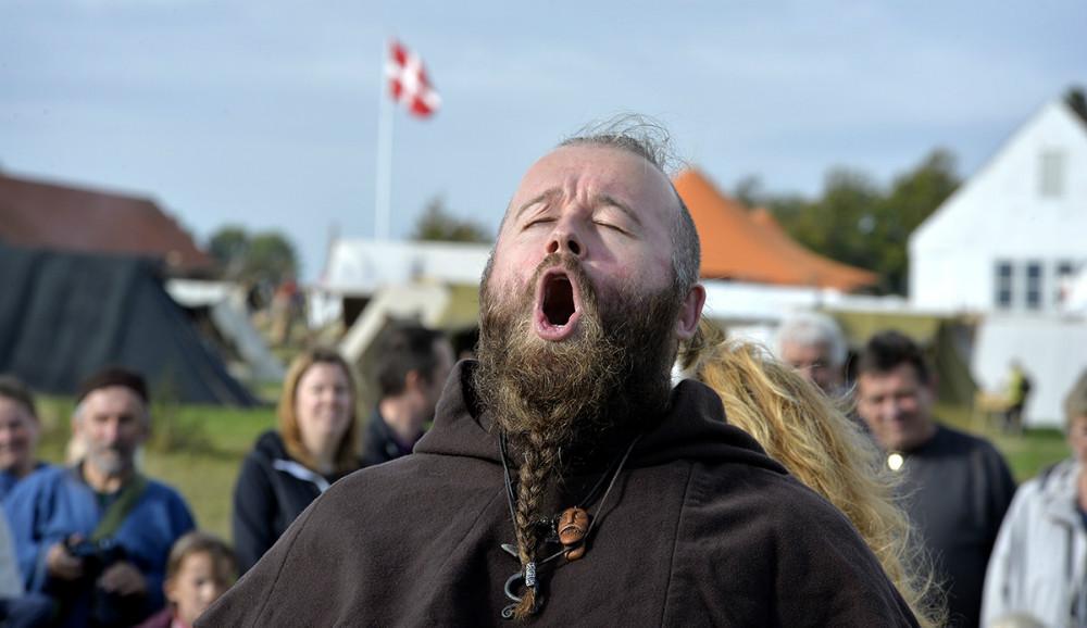 En af de vilde vikinger. Foto: Jens Nielsen