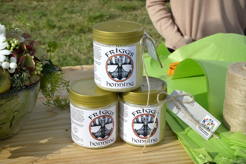 Honning fra Kalundborgegnens Produktionsskole. Foto: Jens Nielsen