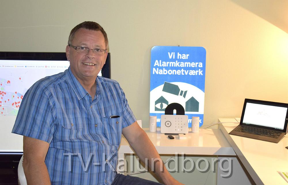 Jørgen Junge, der ejer Junges Alarmer. Foto: Gitte Korsgaard
