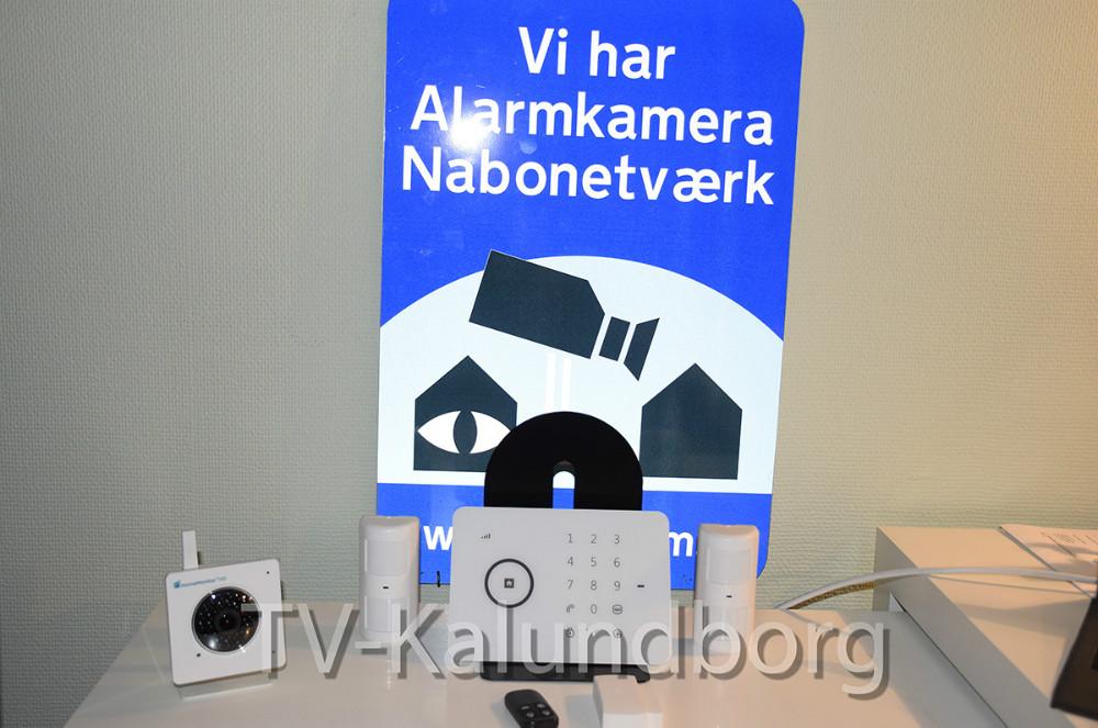 Den alarmpakke, man kan købe i forbindelse med, at man benytter app´en Din Alarm -Nabohjælp. Foto: Gitte Korsgaard.