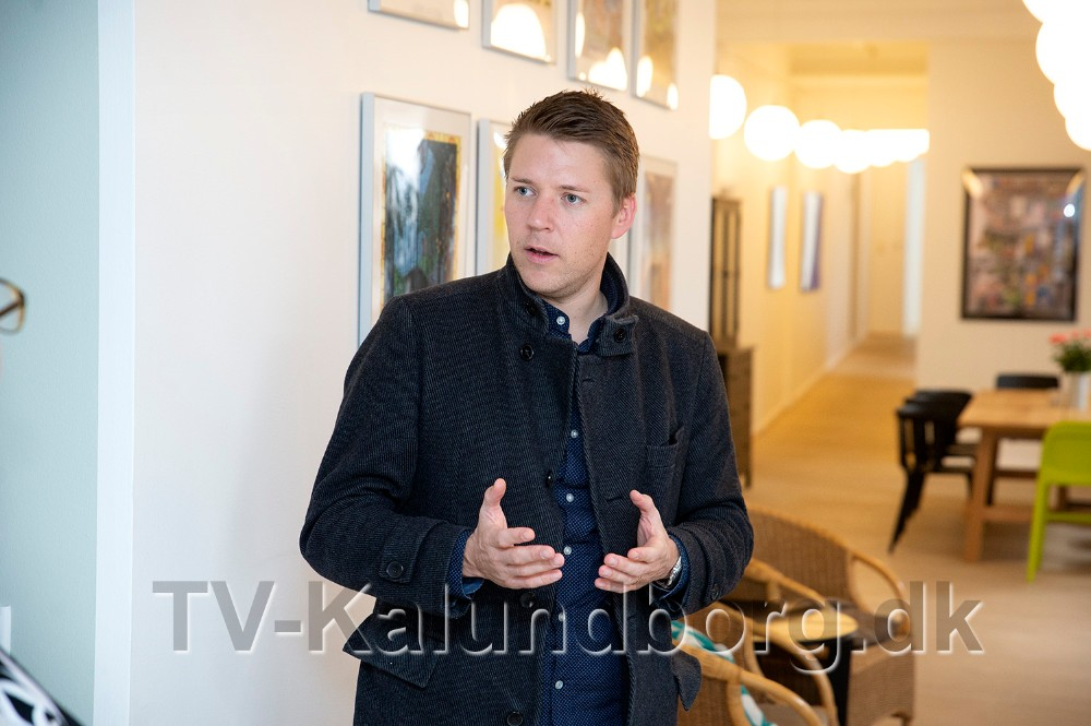 Folketingsmedlem Rasmus Horn Langhoff besøgte i dag Heradøtrenes Krisecenter i Kalundborg.