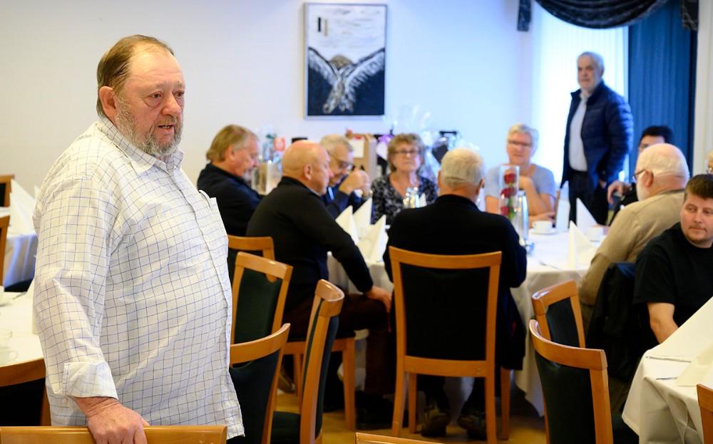 Bestyrelsesformand Kim Rasmussen. Foto: Jens Nielsen