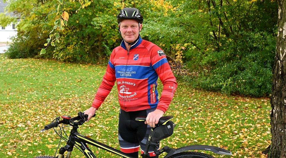 Thomas Nielsen er idemanden bag TGU Cykling. Foto: Jens Nielsen