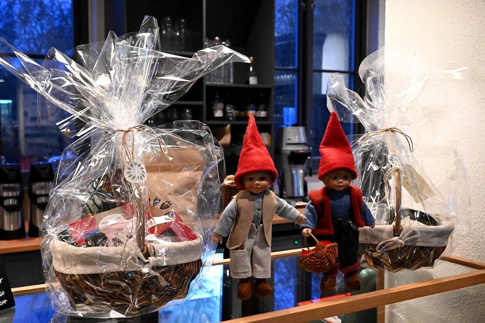 Masser af julehygge på Strids Mølle søndag eftermiddag. Foto: Jens Nielsen