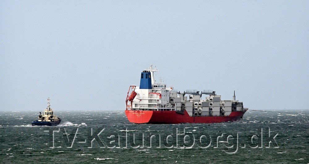 Duncan Island forlod Kalundborg Havn den 21. februar. Foto: Jens Nielsen