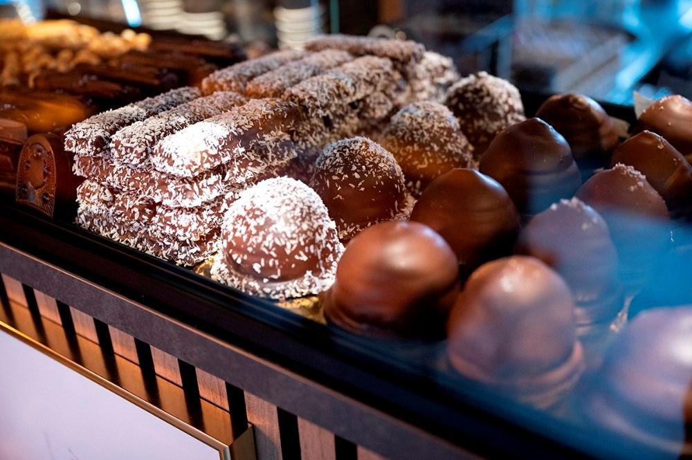 Cafe Belbet sælger også håndlavet chokolade. Foto: Jens Nielsen