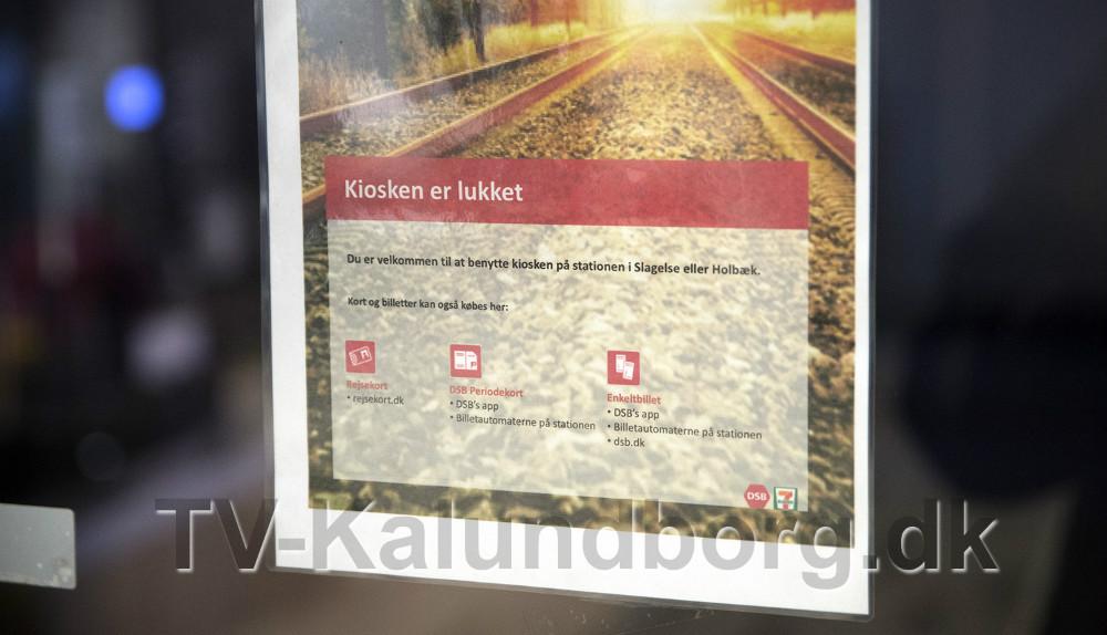 7-Eleven på Kalundborg Station er nu lukket og slukket. Foto: Jens Nielsen