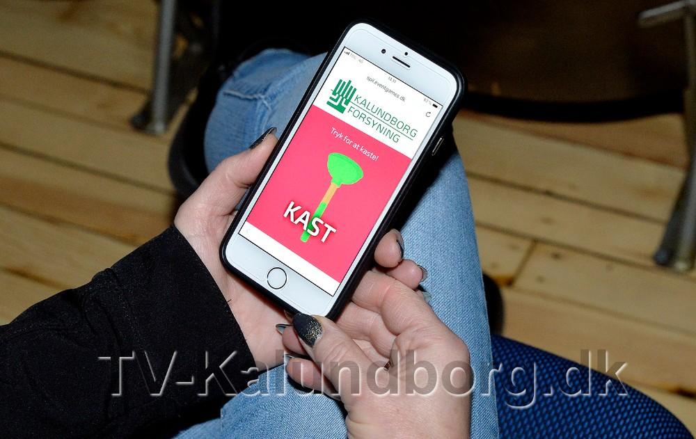 Kalundborg Forsyning er første annoncør på det nye spil i Kino Den Blå Engel. Foto: Jens NIelsen