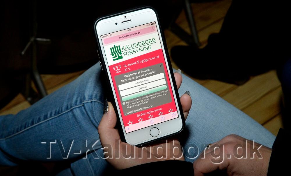 Når spillet er slut indtaster man sin mailadresse og er dermed tættere på gevinsten. Foto: Jens Nielsen