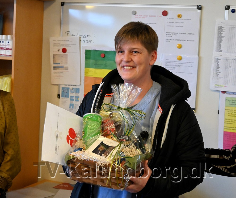 Tanja Pedersen, årets kollega. Foto: Jens Nielsen