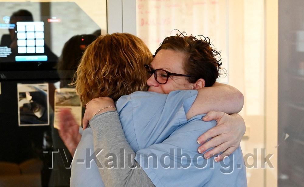 Der blev delt kram ud. Foto: Jens Nielsen