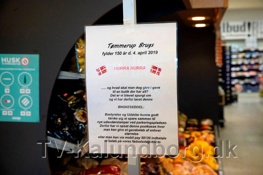 Brugsforeningen ønsker sig penge til belysning. Foto: Jens Nielsen