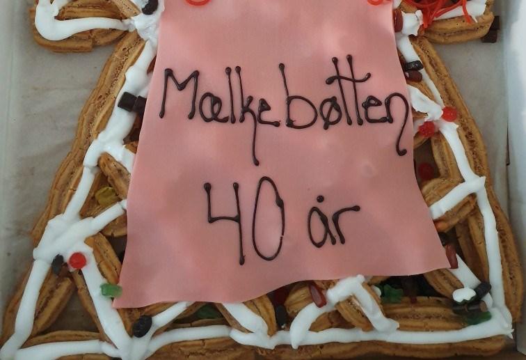 Den selvejende vuggestue og børnehave Mælkebøtten har i dagfejret 40 års fødselsdag. Privatfoto.