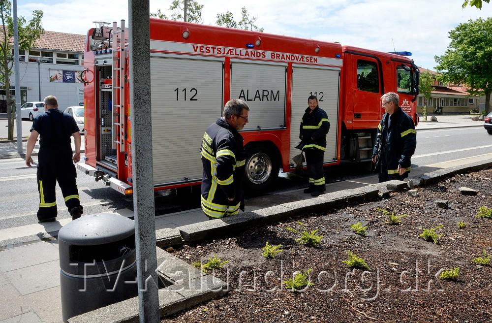 Brandfolkene kunne hurtigt pakke sammen og returnere til stationen. Foto: Jens Nielsen