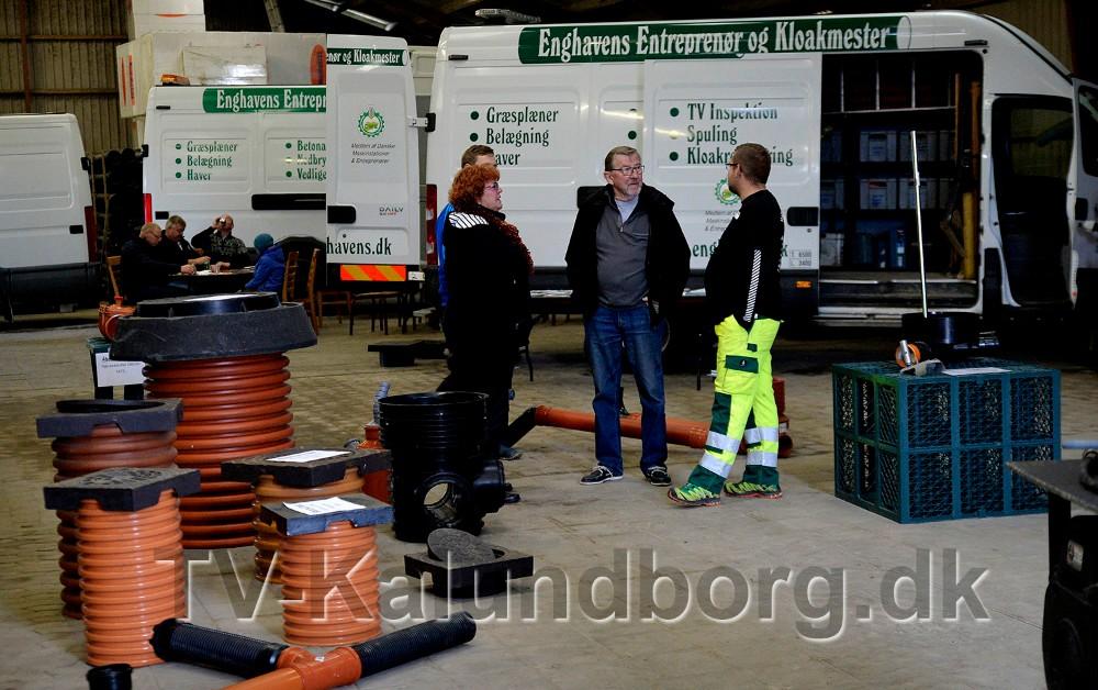 Enghavens Entreprenør og Kloakmester viser løsninger inden for bl.a. kloak