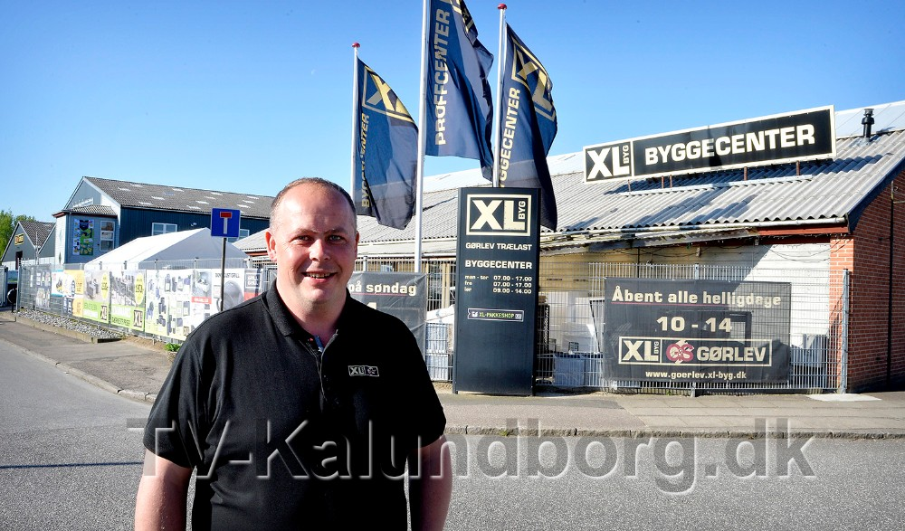 Jesper Sørensen, afdelingsleder hos XL Byg i Gørlev