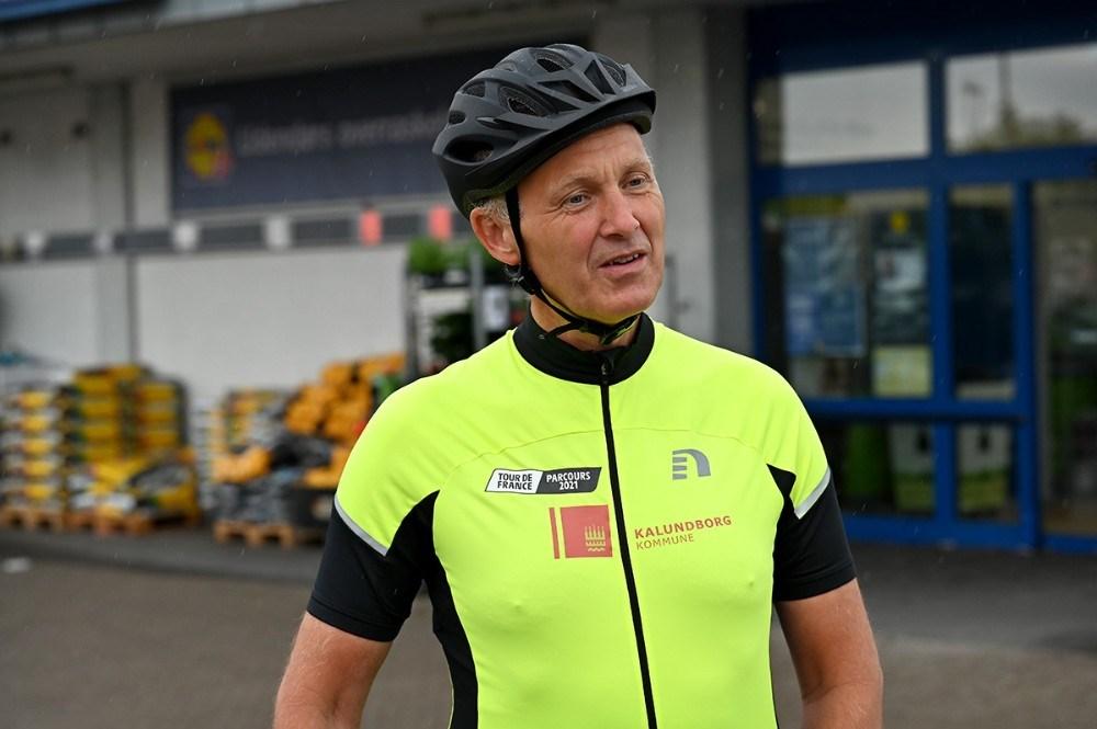 Borgmester Martin Damm er lidt stolt over at han har fået ændret ruten til Tour de France 2022. . Foto: Jens Nielsen