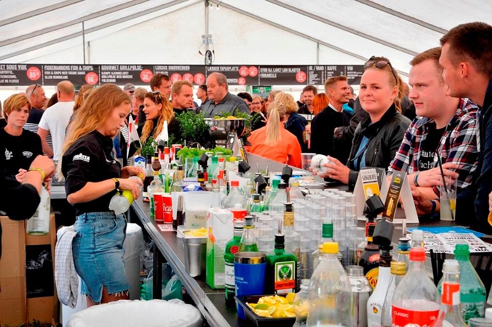Cocktailbaren bliver endnu større end sidste år. Arkivfoto: Jens Nielsen