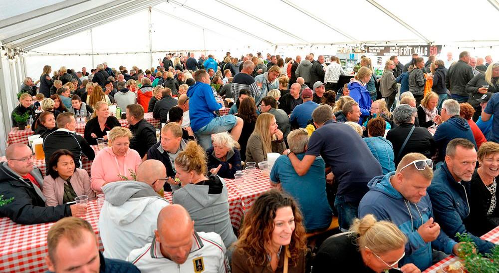 I år bliver der væsentligt mere plads i teltet end sidste år Arkivfoto: Jens Nielsen