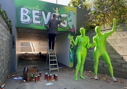 BEVÆG Festival: Graffiti på skemaet