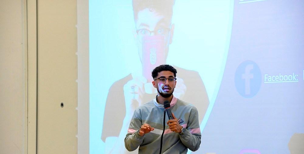 stand-up komikeren og foredragsholderen Ghaith Khashkul. Foto: Jens Nielsen