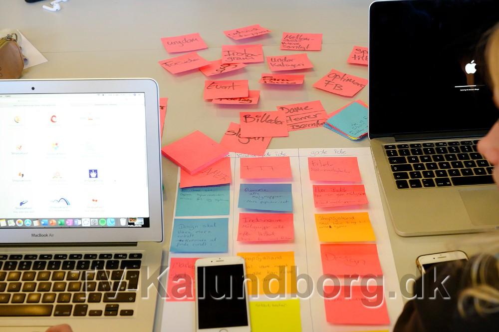 Masser af nye ideer. Foto: Jens Nielsen