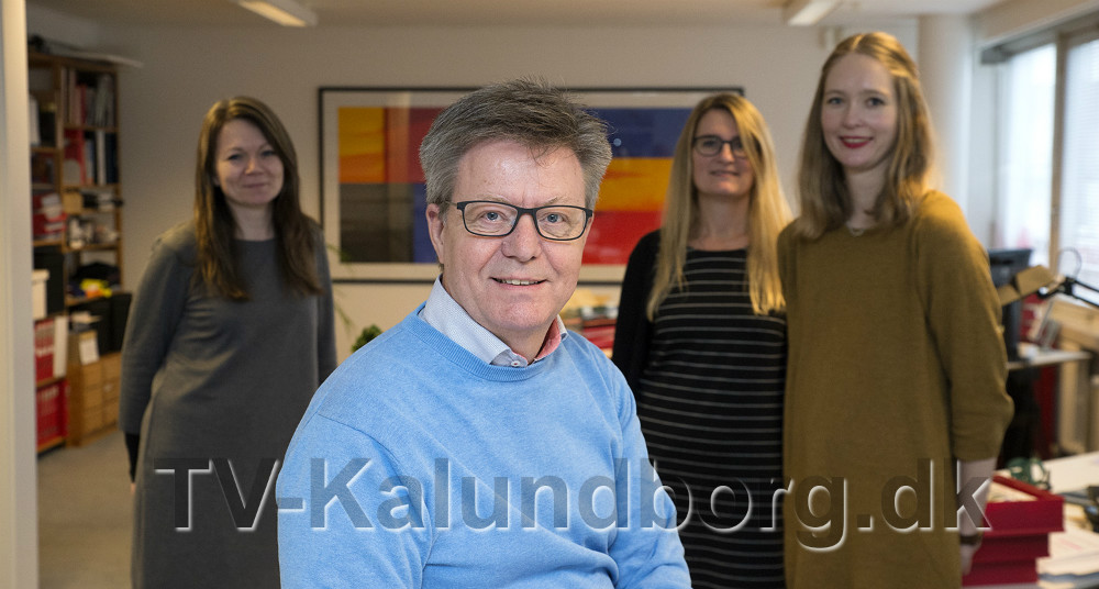 Erik Johnsen startede Reklameservice for 30 år siden. Foto: Jens Nielsen