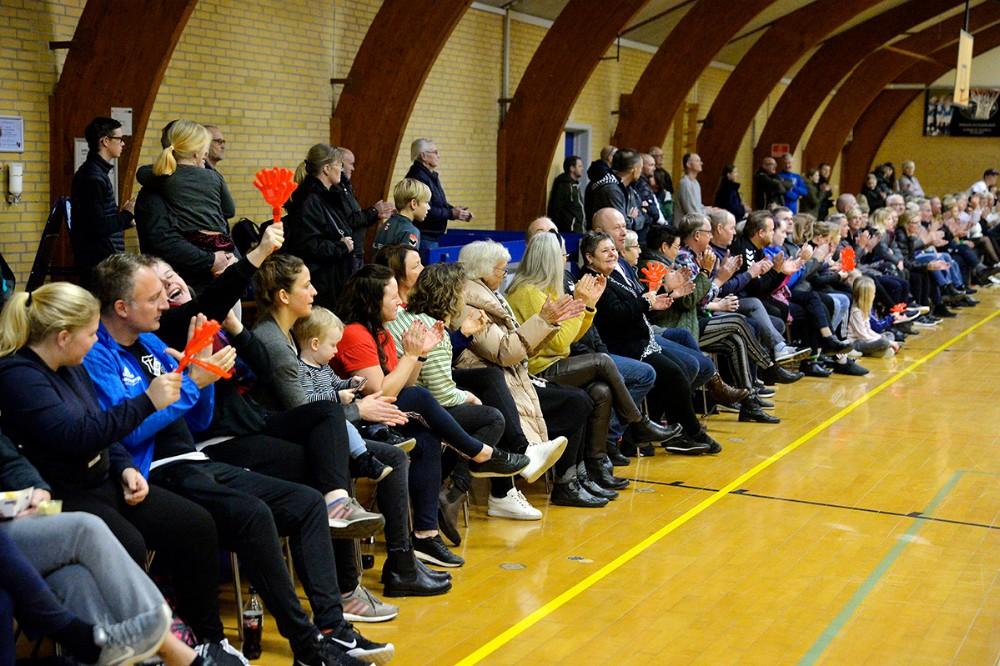 Der var masser af opbakning fra publikum. Foto: Jens Nielsen