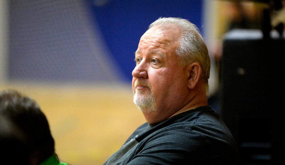 HF Kalundborg træner Hans Wartenberg. Foto: Jens Nielsen