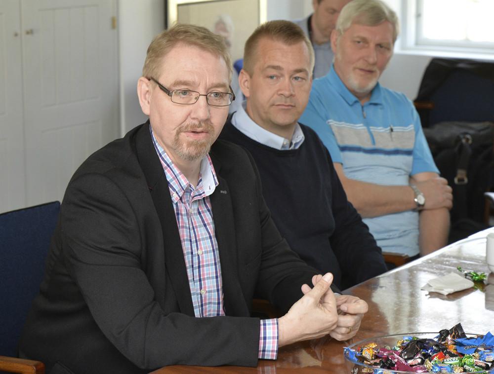 Forrest, Claus Bergman Hansen, projektleder, LEV. Foto: Jens Nielsen
