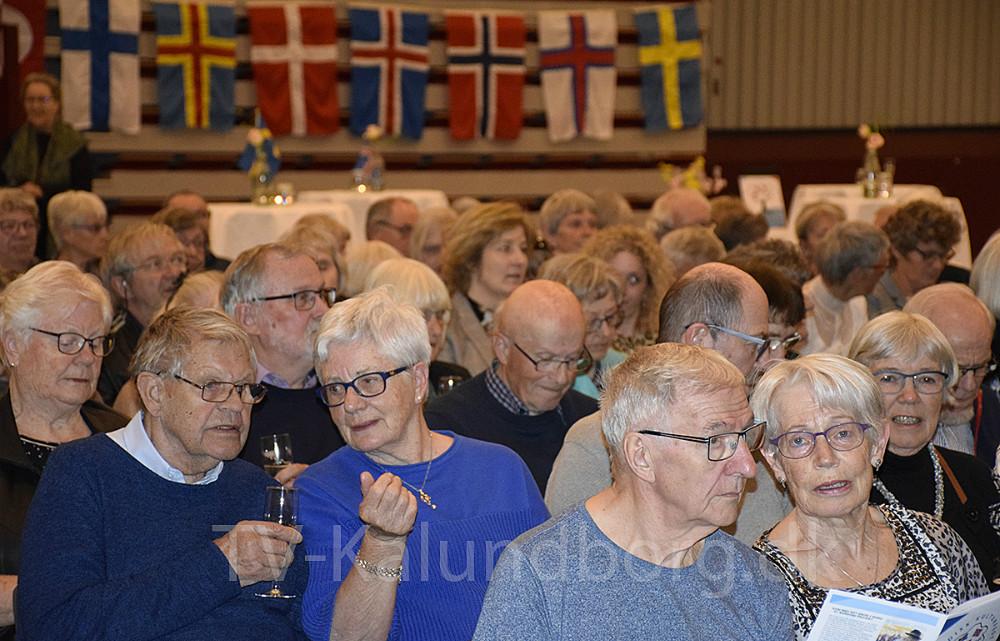 I går var der åbningsreception i forbindelse med, at man fejrer Norden i hele april i Kalundborg Kommune med Nordisk Kulturfestival. Foto: Gitte Korsgaard.
