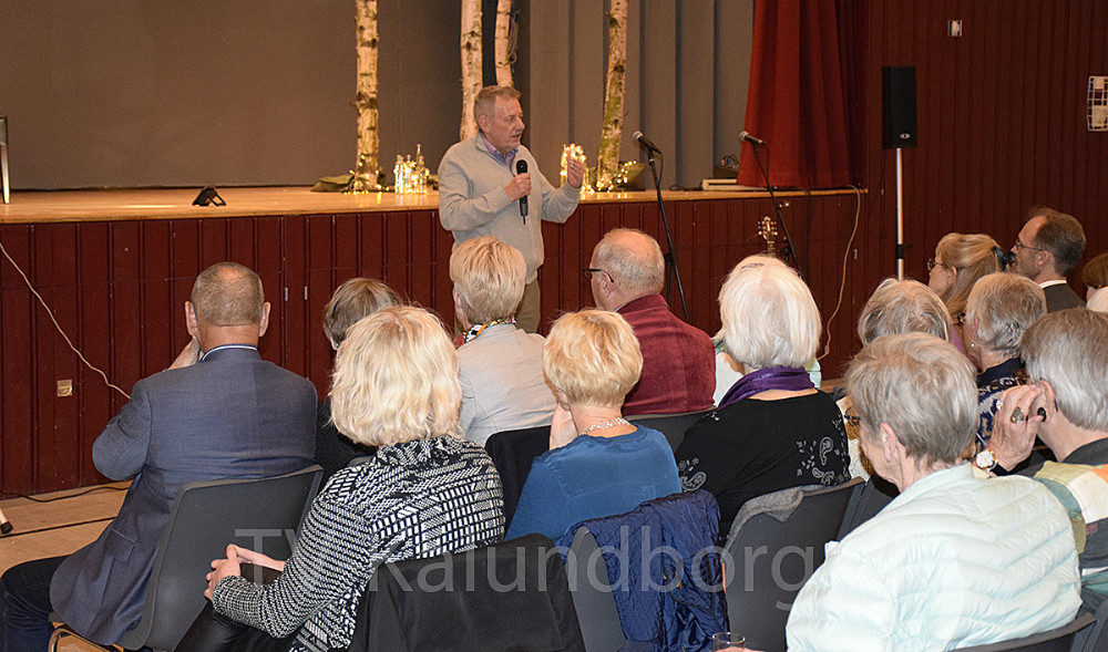 Foreningen Nordens generalsekretær, Peter Jon Larsen, holdte åbningstalen. Foto: Gitte Korsgaard.