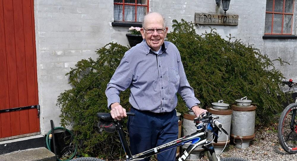 Jens Anker Larsen, 80 år i dag. Foto: Jens Nielsen