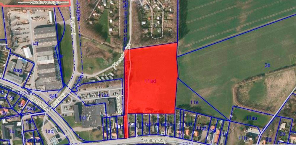 Det nye boligområde skal opføres på en godt 16.000 kvm. stor grund med Meny Kalundborg som nærmeste nabo.